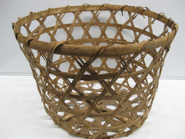 BAS0030 BASKET, Large Open Weave Natural $18.75