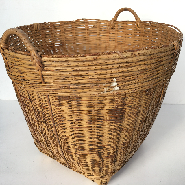 BAS0071 BASKET, Large Asian Style 50-60cm $20