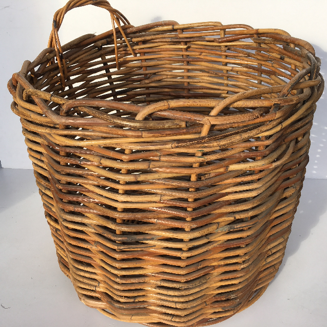 BAS0073 BASKET, Large One Handle 50-60cm $20