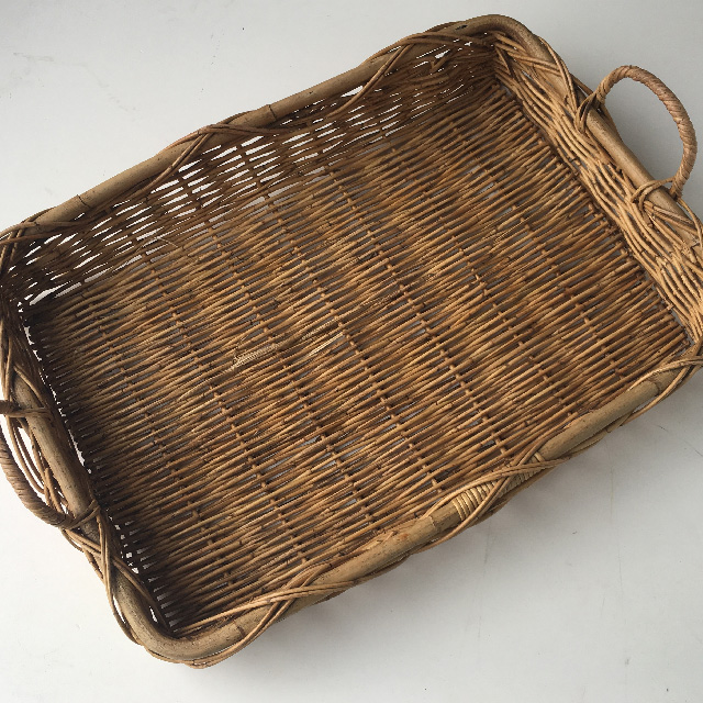 BAS0093 BASKET, Shallow Tray Extra Large 70x50cm $15