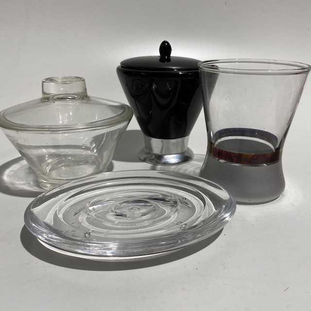 BAT0051 BATHROOM ACCESSORY, Assorted Glass $3.75