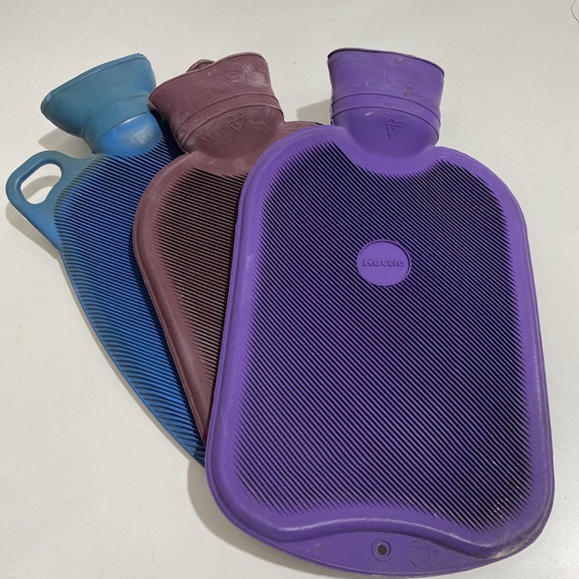 HOT0002 HOT WATER BOTTLE, Coloured $7.50