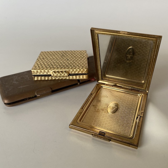MAK0015 MAKE UP, Compact - Vintage Square or Rectangular $10