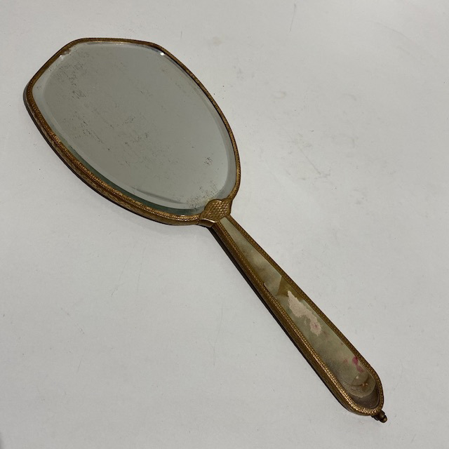 MIR0018 MIRROR, Hand Held Tarnished Silver $7.50