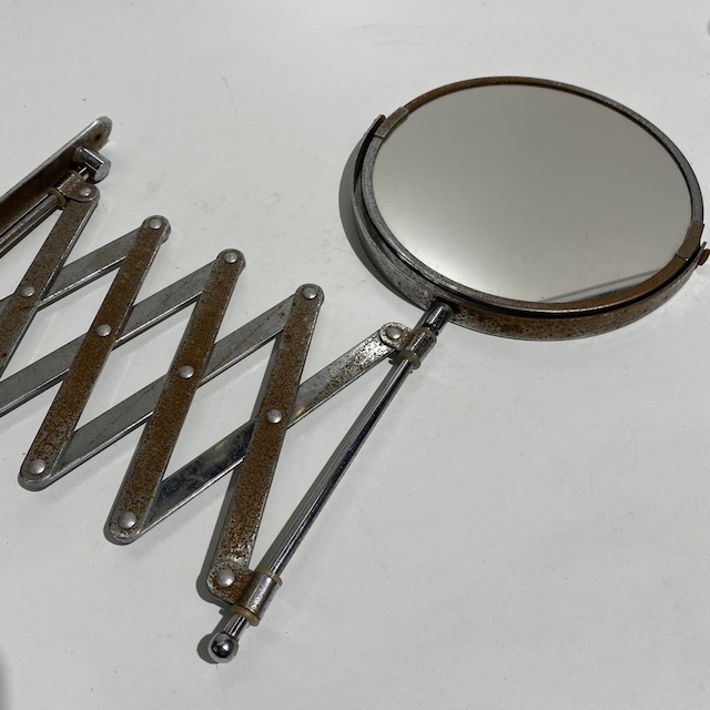 MIR0022 MIRROR, Retractable w Rust $11.25