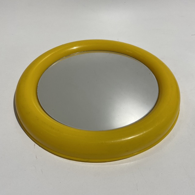 MIR0032 MIRROR, Yellow Retro - Small $10