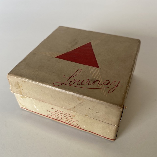 POW0013 POWDER BOX, Vintage Lournay $12.50