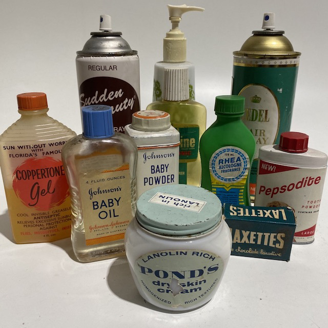 PRO0014 PRODUCT, Bathroom Toiletries - Retro $5