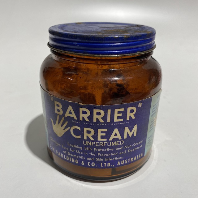 PRO0017 PRODUCT, Vintage Barrier Cream Jar $5