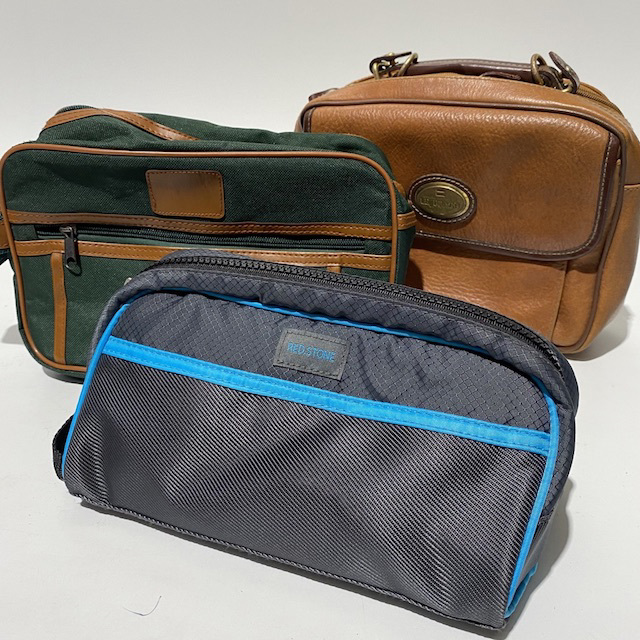TRA0109 TRAVEL BAG, Men's Toiletry or Wash Bag $6.25
