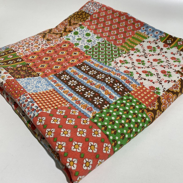 SHE0067 SHEET, Patchwork Red Green $10