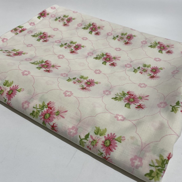 SHE0069 SHEET, Pink Daisy Floral $7.50