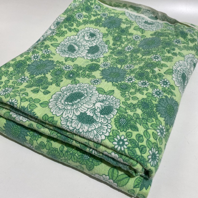 SHE0078 SHEET, Retro Green Floral $10