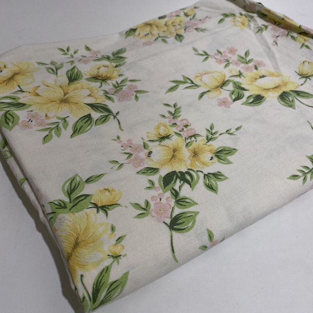 SHE0082 SHEET, Yellow Floral $10
