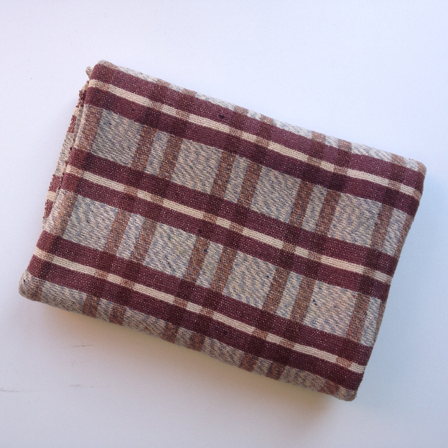 BLA0127, BLANKET, Picnic Blanket - Brown Grey Tartan $10