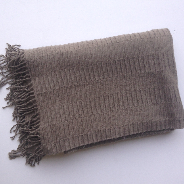 BLA0188, BLANKET (Throw), Brown $10