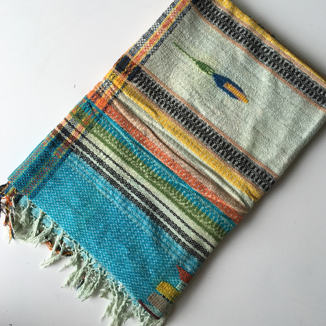 BLA0105 BLANKET (Throw), South American $10