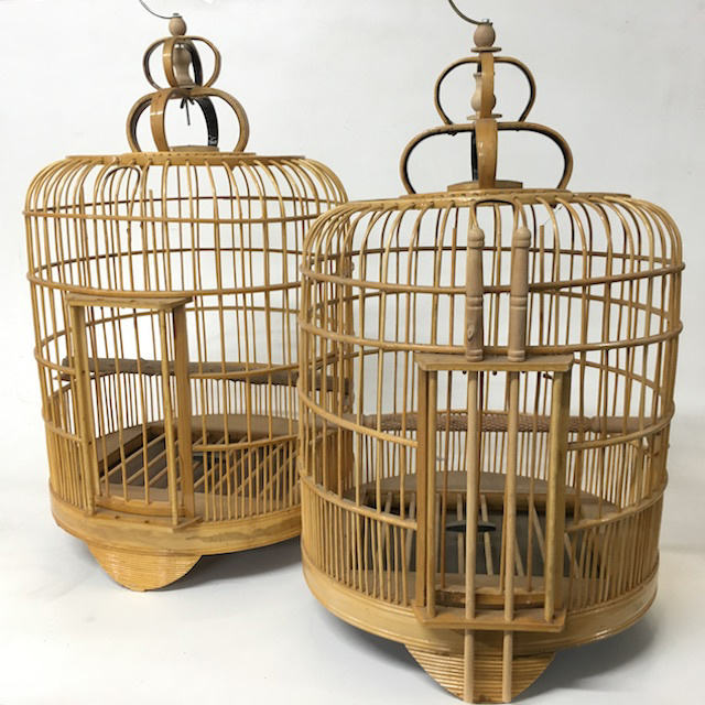 BIR0131 BIRDCAGE, Natural Asian - Large 50cm $30