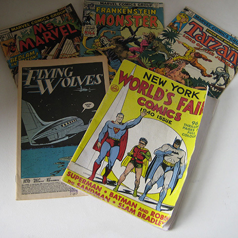 BOO0039 BOOK, Comic - Classic Marvel Assorted $3.75