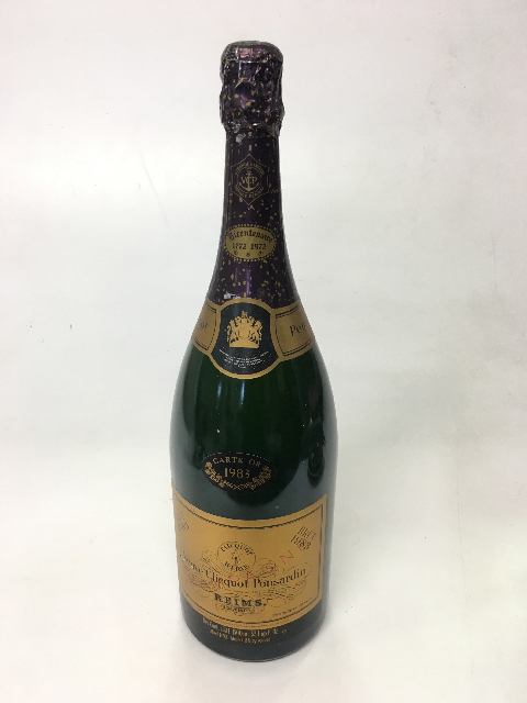 BOT0031 BOTTLE, Champagne Magnum - Vintage Veuve Clicquot (Gold Label) $12.50