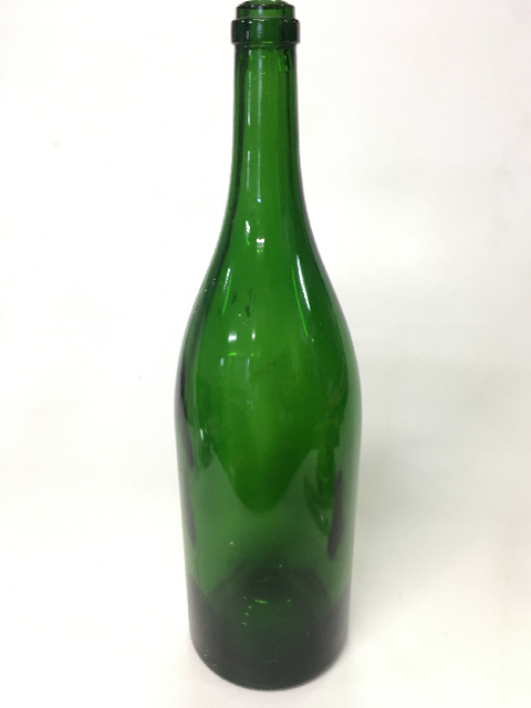 BOT0034 BOTTLE, Ex Large Green Glass $10