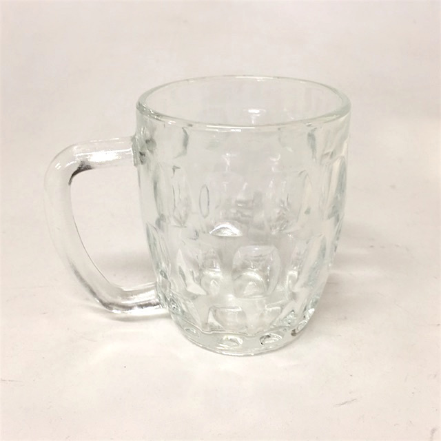 GLA0067 GLASS, Beer Half Pint Krug $1.25