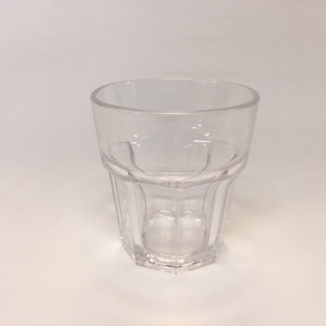 GLA0065 GLASS, Plastic Glass (Spirit or Coffee) $1
