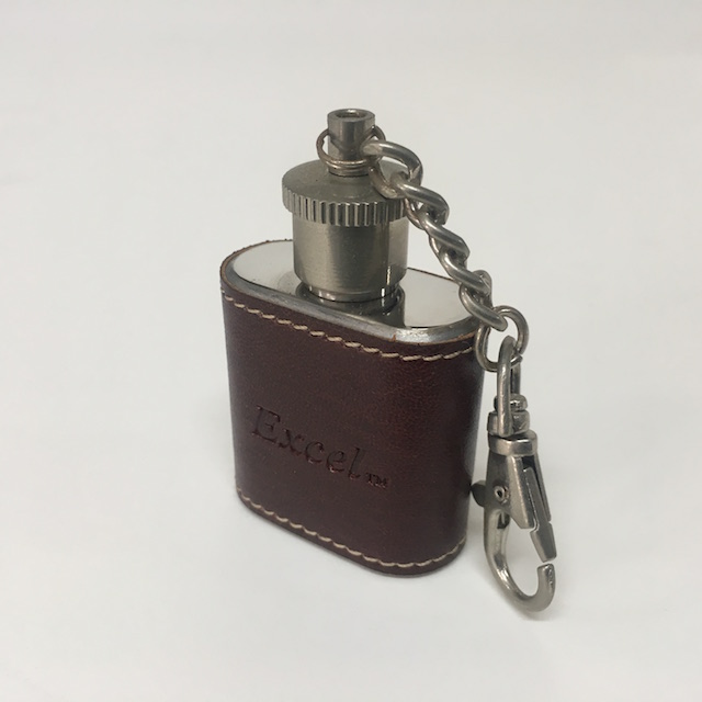 HIP0003 HIP FLASK, Ex Small Keyring $4.50