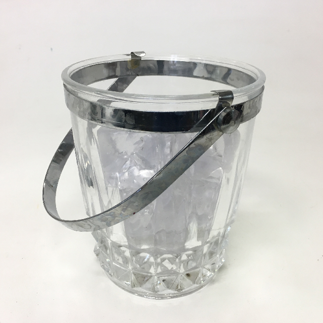ICE0032 ICE BUCKET, Cut Glass - Small $5