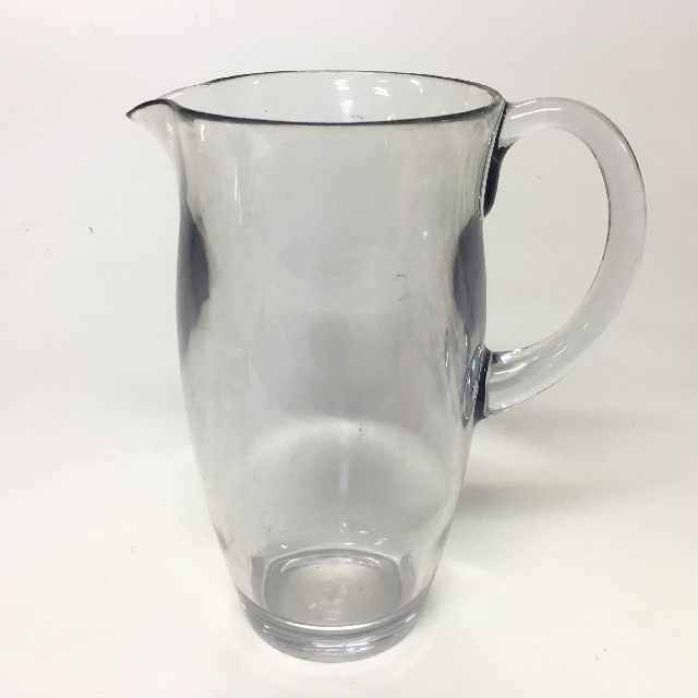 JUG0019 JUG, Clear Plastic Assorted $5
