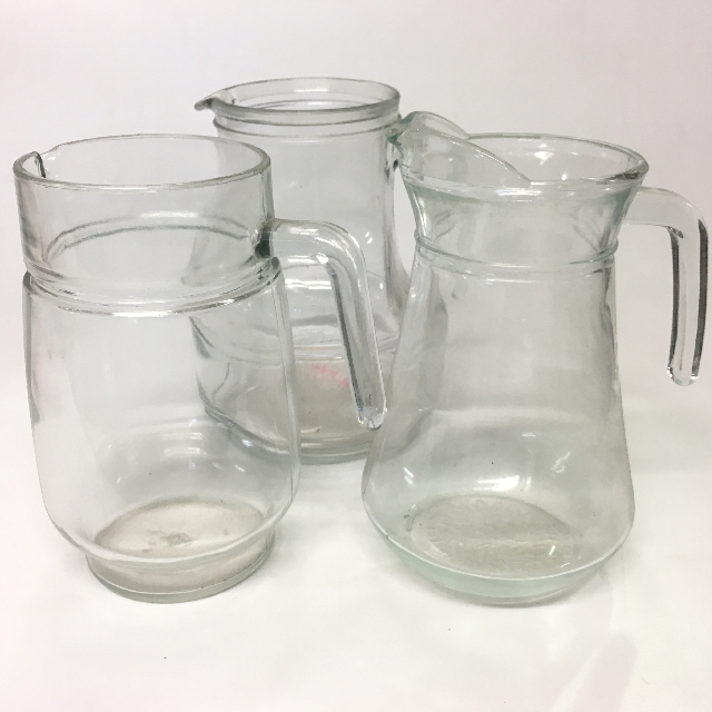 JUG0024 JUG, Glass Assorted $6.25