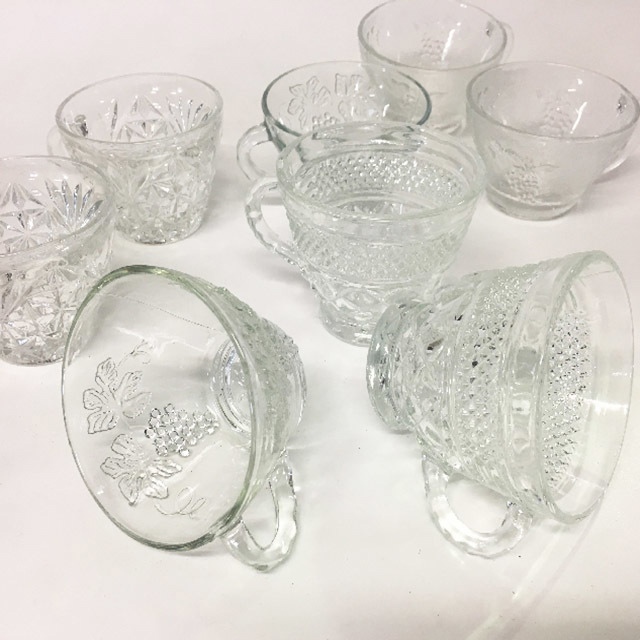 PUN0050 PUNCH BOWL GLASSES $1.50