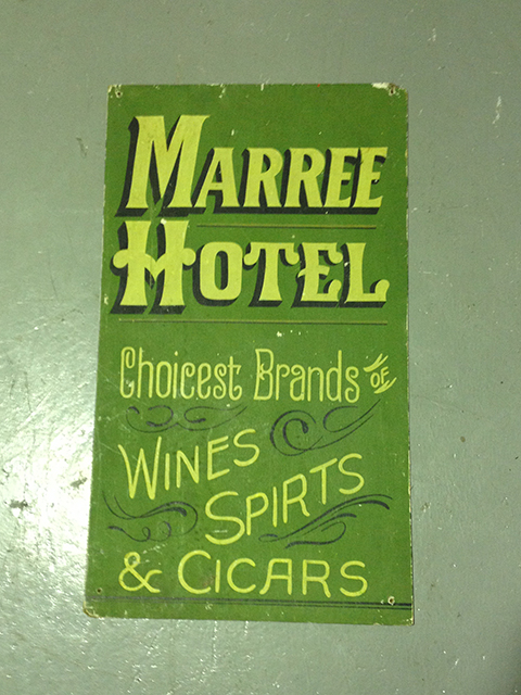 SIG0006 SIGN, Maree Hotel Signwritten $37.50
