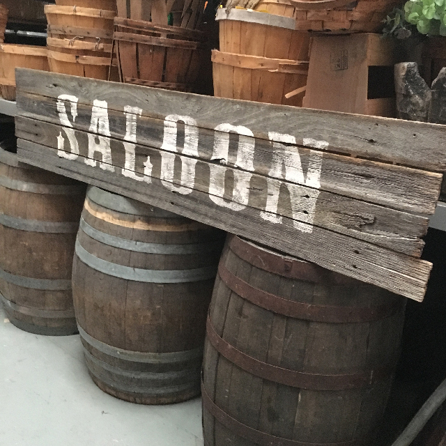 SIG0011 SIGN, Saloon - Large $52.50