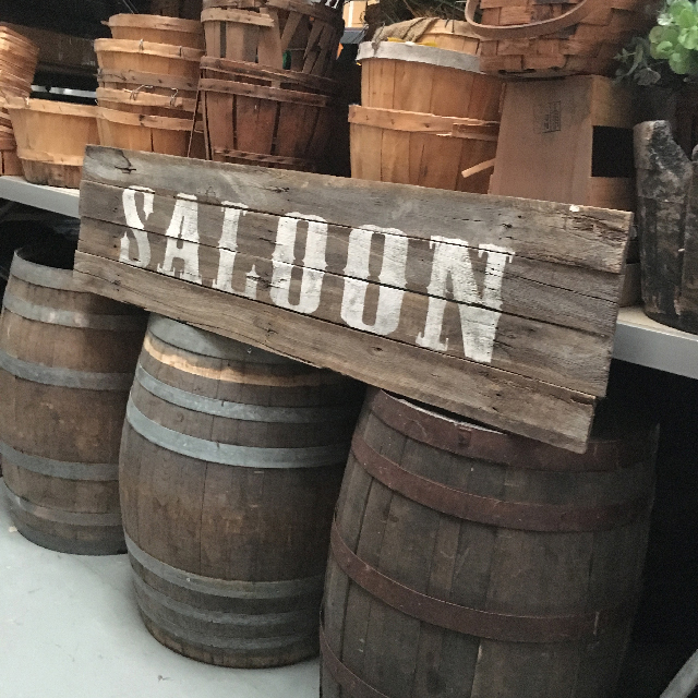 SIG0012 SIGN, Saloon - Small $45