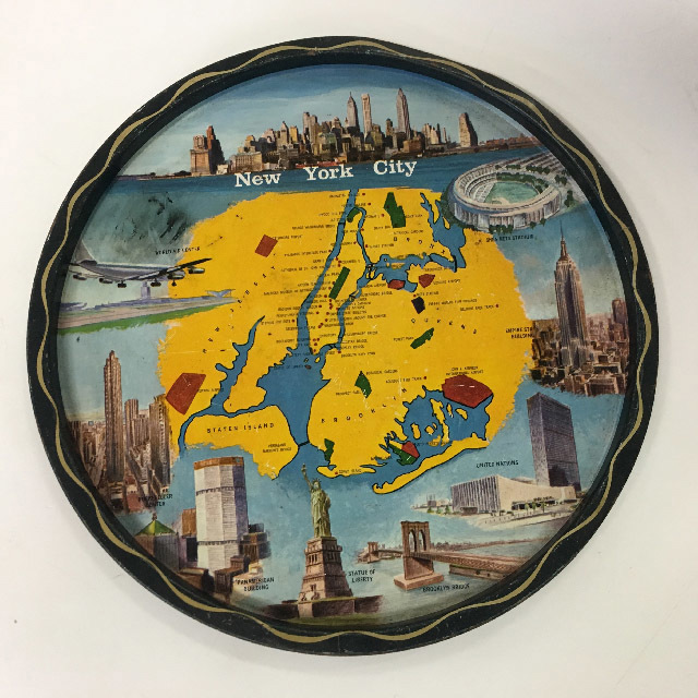 TRA0049 TRAY, New York City Souvenir $5