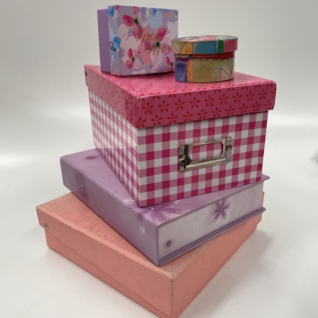 BOX0031 BOX, Jewellery, Trinket or Stationery (suits girls bedroom) $1.25