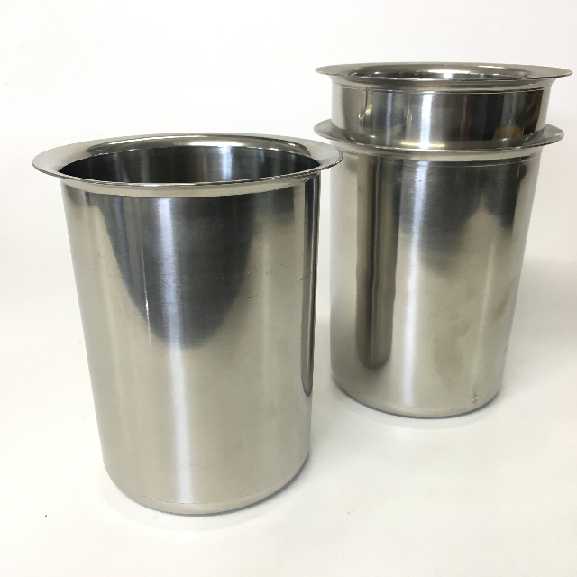 BUC0037 BUCKET, Stainless Steel Cafe Bar Style $5