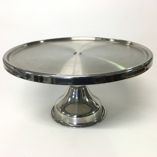 CAK0026 CAKE STAND, Stainless Steel - High $7.50