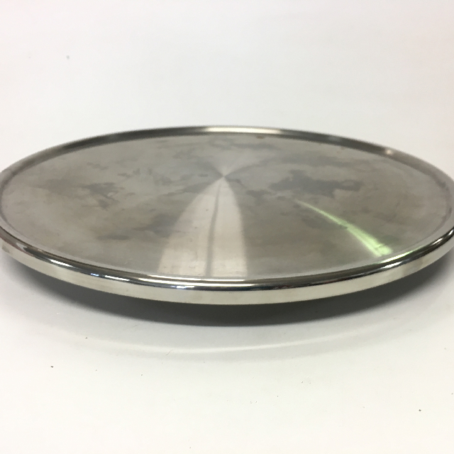 CAK0027 CAKE STAND, Stainless Steel - Low $6.25