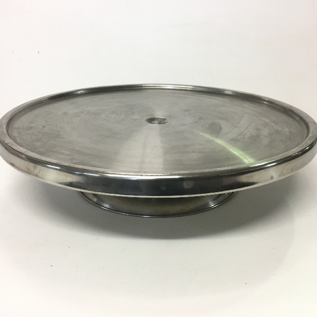 CAK0028 CAKE STAND, Stainless Steel - Medium $6.25
