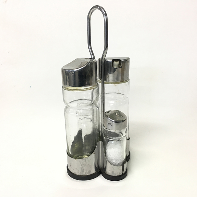CON0006 CONDIMENT SET, Chrome $3.75
