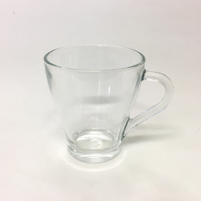 GLA0057 GLASSWARE, Glass Coffee Cup Or Mug $1.50