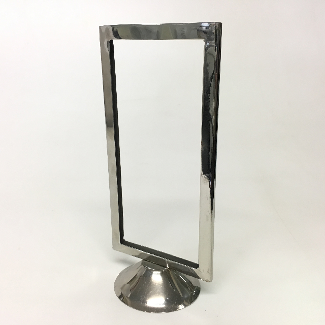 MEN0013 MENU HOLDER, Chrome $5