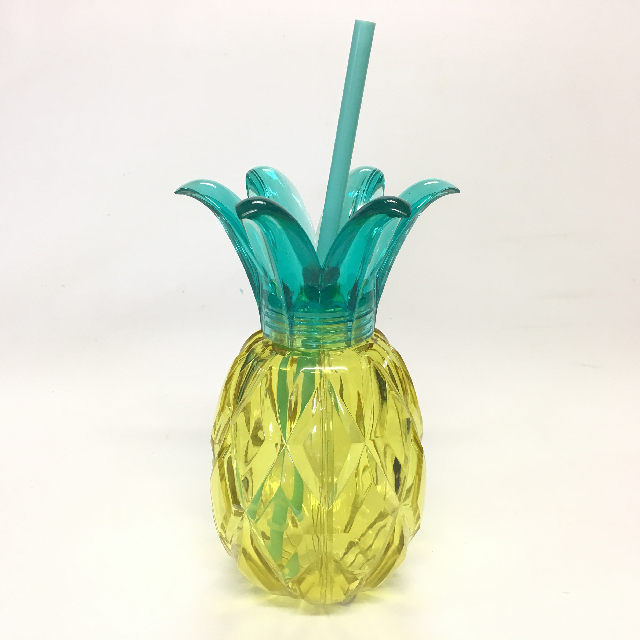 PLA0022 PLASTICWARE, Pineapple Sipper Cup $2.50