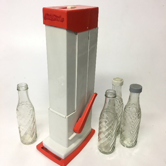 SOD0011 SODA STREAM, Orange & White $12.50