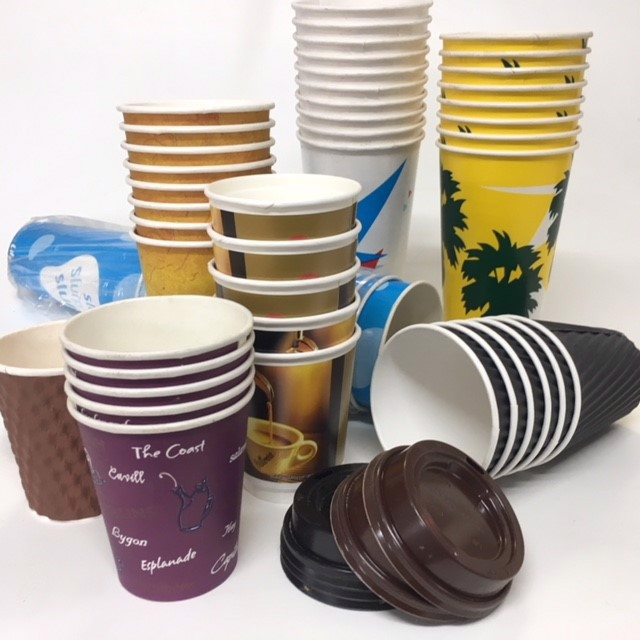 TAK0007 TAKEAWAY CUP and PACKAGING, Assorted $0.25