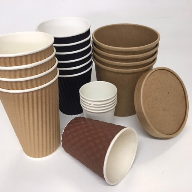 TAK0006 TAKEAWAY CUP, Generic Eco Assorted $0.25