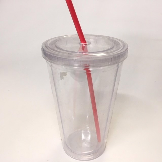 TAK0004 TAKEAWAY PACKAGING, Plastic Slurpee Keep Cup $2.50