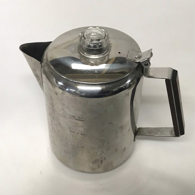 TEA0019 TEA POT, Large Stainless Steel $7.50